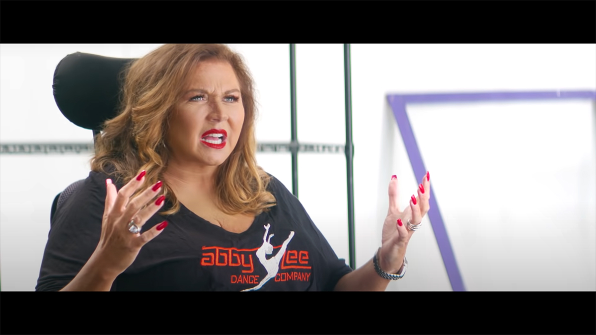 """Abby Lee Miller in """"Fake"""""""
